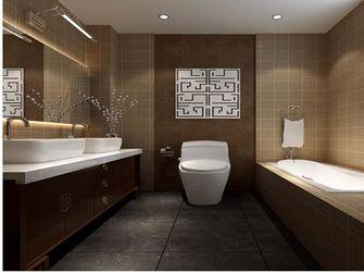 140平米三室一厅新古典风格卫生间图片大全