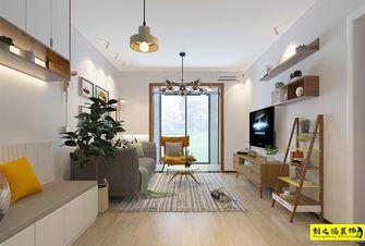 富裕型100平米三室两厅北欧风格客厅图片大全