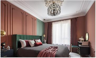 富裕型140平米三混搭风格卧室装修案例
