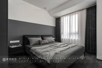 豪华型80平米现代简约风格卧室装修图片大全