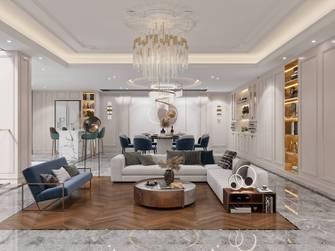 豪华型140平米别墅法式风格玄关装修案例