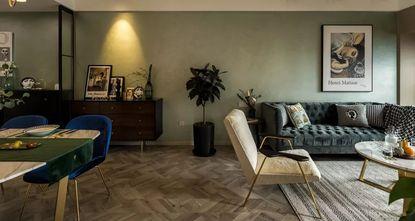 3-5万80平米三室一厅新古典风格餐厅装修案例