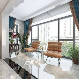 130平米三室一厅混搭风格阳台装修案例