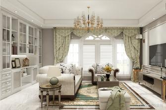 富裕型三美式风格客厅装修图片大全