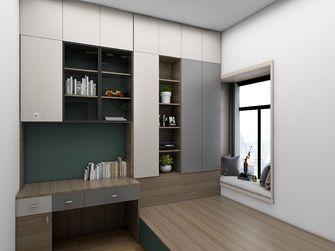 经济型60平米三室一厅现代简约风格书房装修图片大全