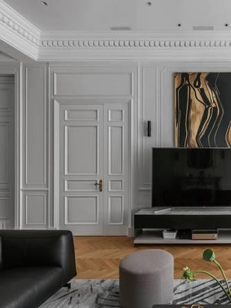 豪华型140平米四室两厅英伦风格客厅欣赏图