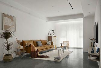 富裕型110平米三室两厅现代简约风格客厅设计图