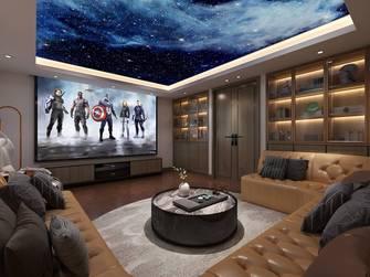 20万以上140平米三室两厅中式风格影音室图片