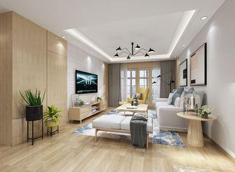 豪华型130平米三室两厅北欧风格客厅图