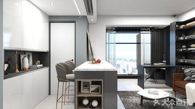 10-15万50平米公寓现代简约风格餐厅设计图