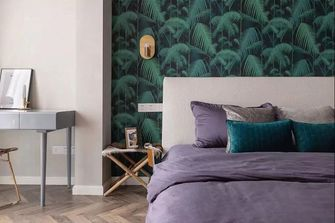 经济型80平米法式风格卧室欣赏图