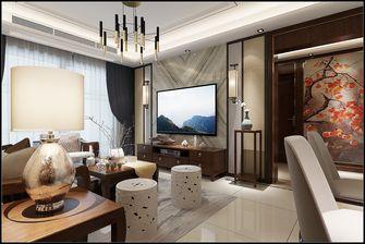 富裕型110平米三室一厅中式风格客厅装修图片大全