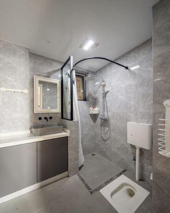 富裕型90平米三室两厅北欧风格卫生间欣赏图