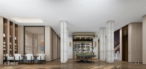 豪华型140平米别墅现代简约风格客厅图片大全