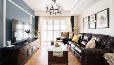 5-10万70平米三室一厅美式风格客厅装修效果图