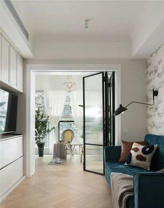120平米三室两厅法式风格书房设计图