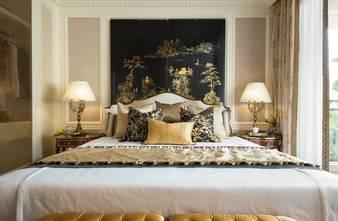 富裕型140平米三室两厅欧式风格卧室装修图片大全