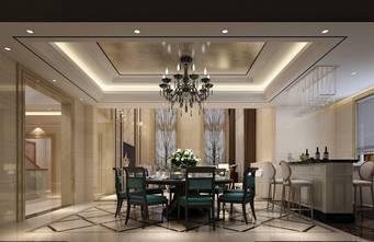 20万以上140平米别墅港式风格餐厅装修效果图