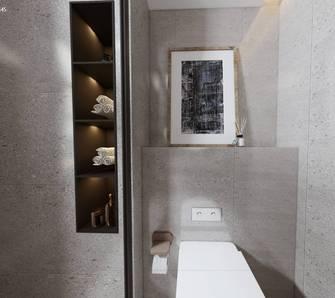 20万以上90平米现代简约风格卫生间设计图