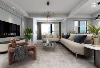 15-20万三室两厅现代简约风格客厅装修案例