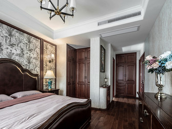 豪华型130平米三美式风格卧室装修效果图