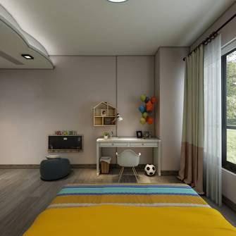 20万以上140平米四室一厅北欧风格卧室装修图片大全