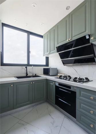 90平米三室两厅法式风格厨房装修案例