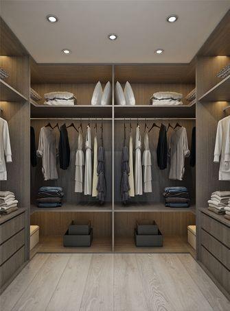 80平米三室两厅现代简约风格衣帽间装修图片大全