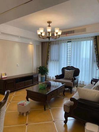 10-15万100平米三室一厅美式风格客厅图片大全