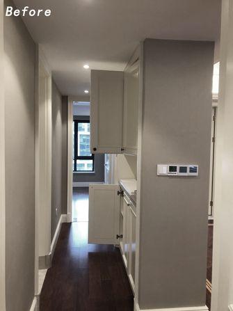 富裕型110平米三室两厅现代简约风格走廊效果图