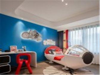 15-20万120平米三室两厅中式风格青少年房设计图