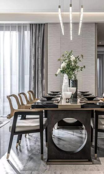 140平米欧式风格餐厅欣赏图