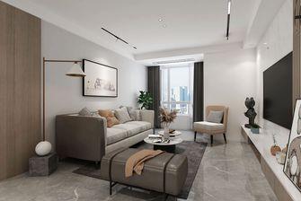 5-10万90平米三室一厅现代简约风格客厅欣赏图