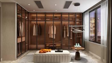 富裕型120平米三室两厅轻奢风格衣帽间装修效果图