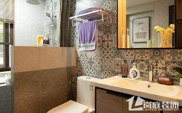 豪华型140平米三室两厅北欧风格卫生间图片大全