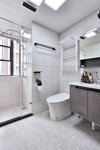 豪华型140平米三室两厅现代简约风格卫生间装修案例