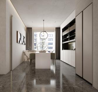 豪华型140平米三室一厅现代简约风格餐厅设计图