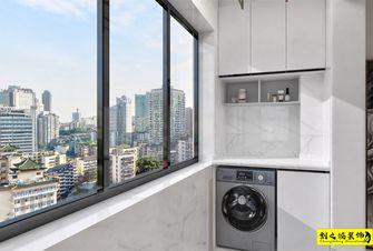 10-15万110平米三室两厅现代简约风格阳台图