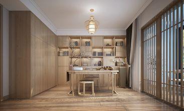 富裕型110平米三室两厅日式风格书房装修效果图