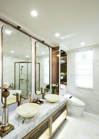 富裕型130平米三室一厅港式风格卫生间装修效果图