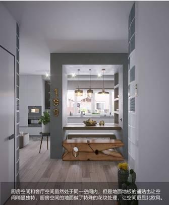 富裕型三室两厅北欧风格餐厅图片大全