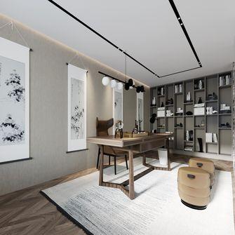 20万以上140平米复式混搭风格书房图片大全