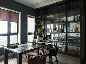 130平米三室一厅工业风风格餐厅装修图片大全
