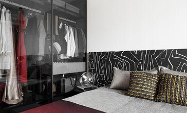 5-10万70平米英伦风格卧室设计图