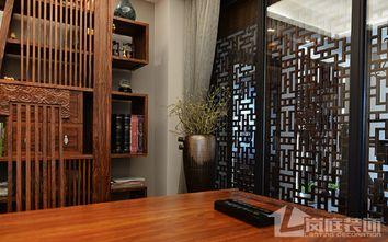 豪华型140平米复式中式风格书房欣赏图