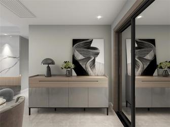 经济型120平米四室一厅现代简约风格玄关效果图
