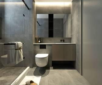 130平米三室两厅北欧风格卫生间图片