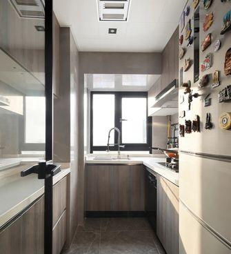 5-10万50平米公寓现代简约风格厨房设计图