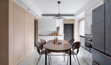 豪华型110平米三室一厅现代简约风格餐厅图片大全