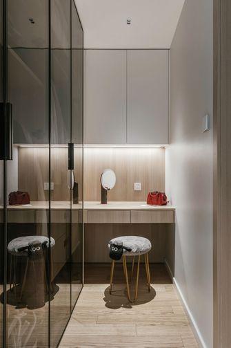 经济型三室两厅现代简约风格衣帽间设计图